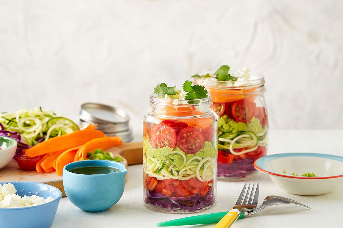 Noodle Salad Jars