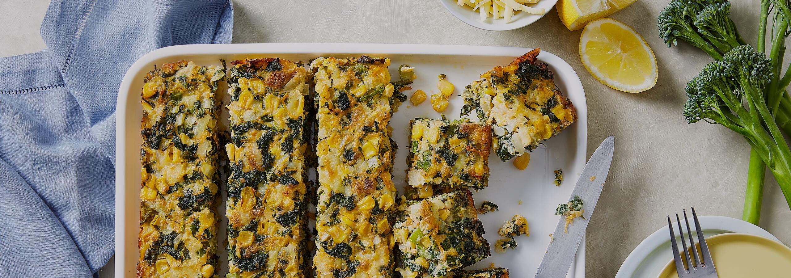 Green Veggie Slice