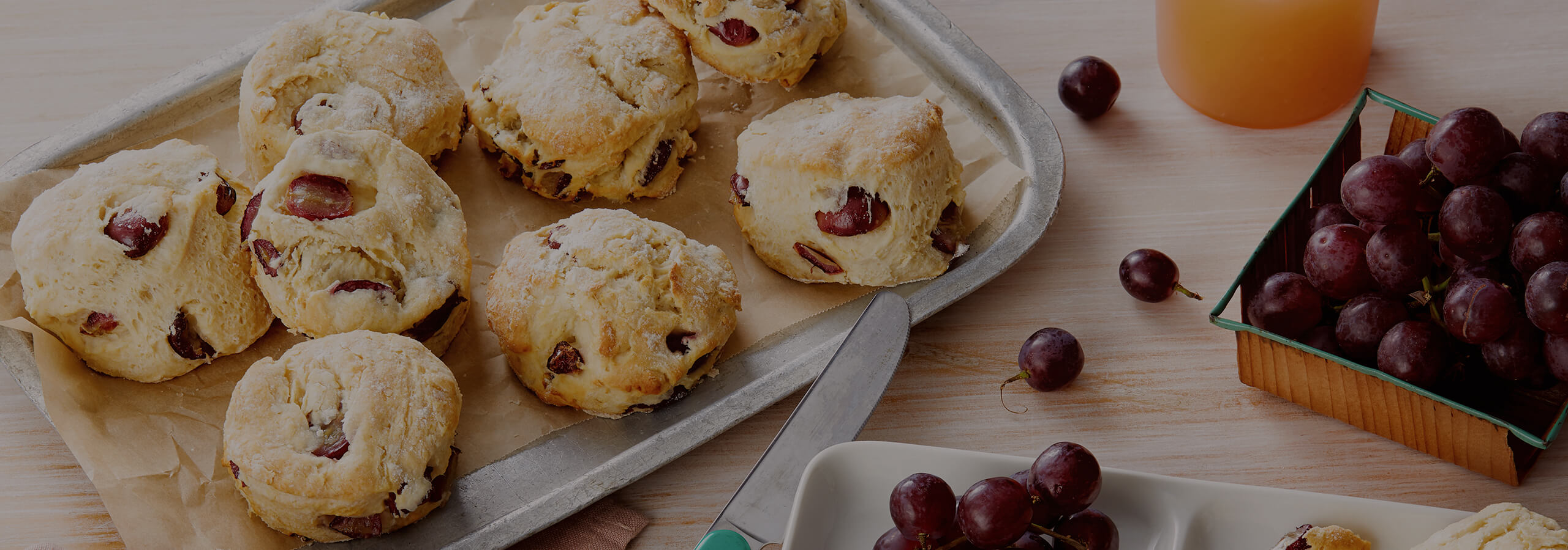 Grape Scones