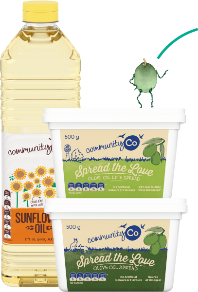Community Co Sunflower Oil and Spreads